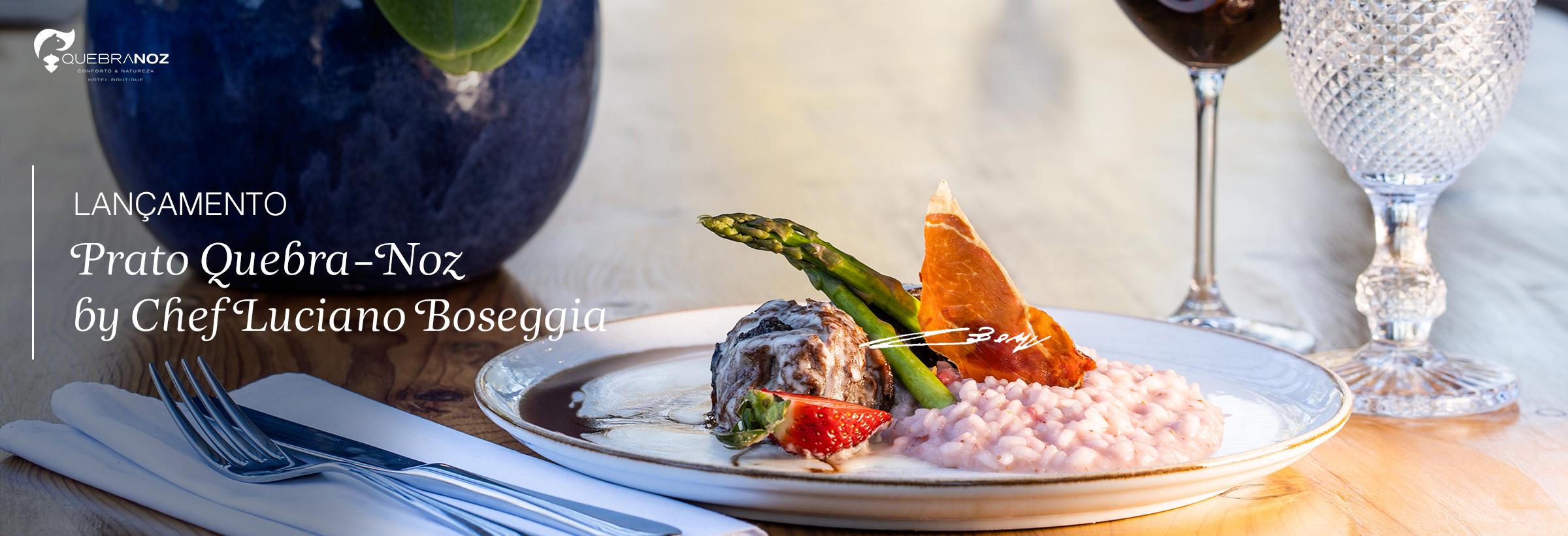 Inovação na Gastronomia - Hotel Boutique Quebra-Noz