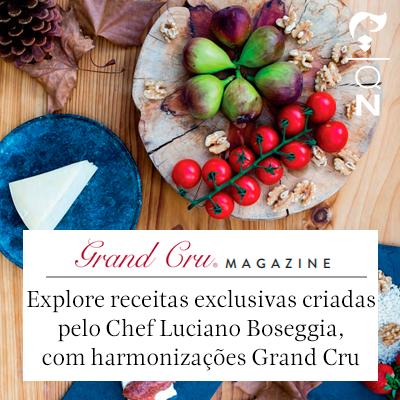 Destaque na revista Grand Cru